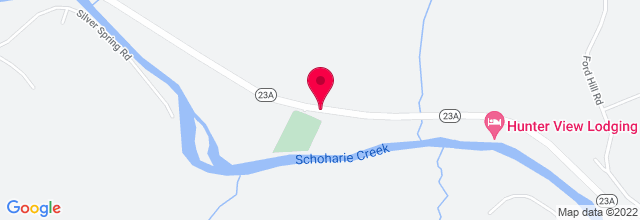Map for Hunter Mountain