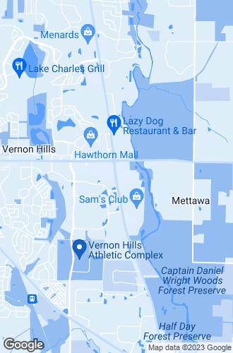Map of Vernon Hills