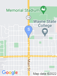 Wayne State College map