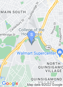 College of the Holy Cross map