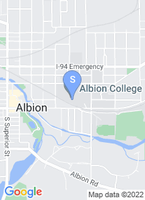 Albion College map