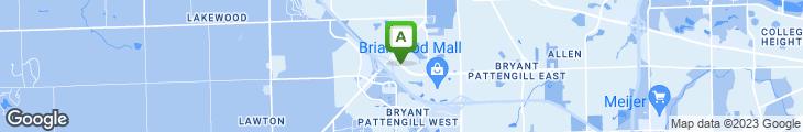 Map of Paradise Restaurant