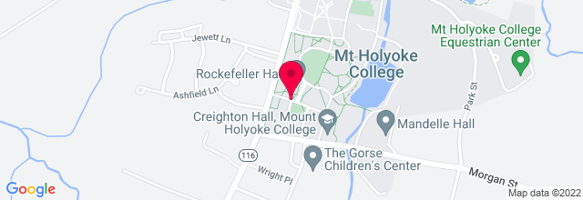 Map for Mount Holyoke College
