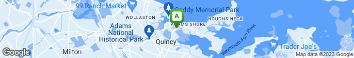 Map of Grumpy White's Restaurant