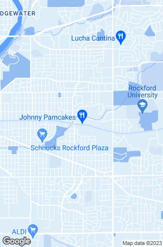 Map of Rockford