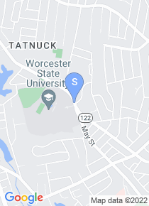 Worcester State University map