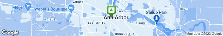 Map of Amadeus Restaurant