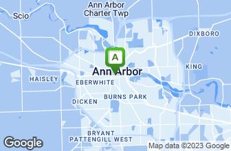 Map of Ahmo's Gyros & Deli