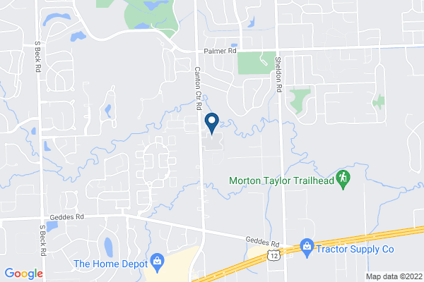 Map of South Canton Scholars Charter Academy