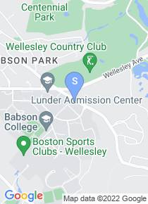 Babson College map