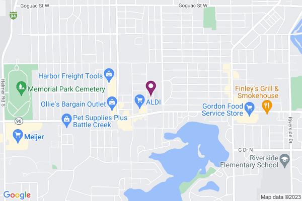 Map of Arbor Academy