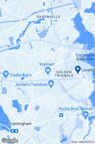 Map of Framingham