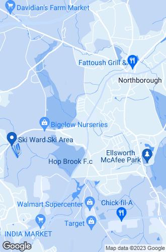 Map of Northborough