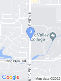 Rock Valley College map