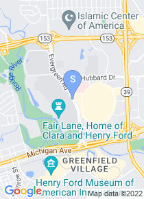 University of Michigan Dearborn map