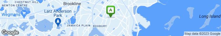 Map of Breezeway Bar & Grill