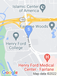Henry Ford Community College map