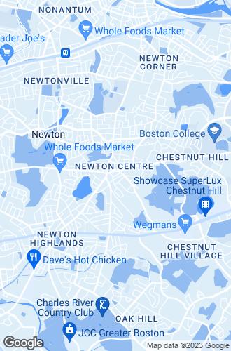 Map of Newton Center