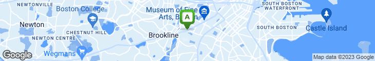 Map of Kwik-E Pizza & Sub Shop