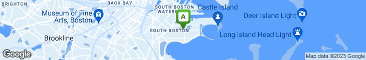 Map of Boston Beer Garden