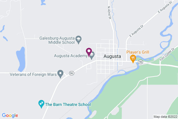 Map of Augusta Academy