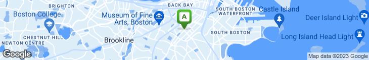 Map of Washington Cafe