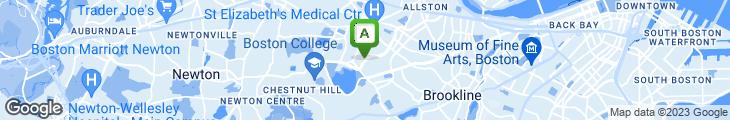 Map of Bluestone Bistro