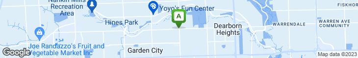 Map of Deluca's Restaurant