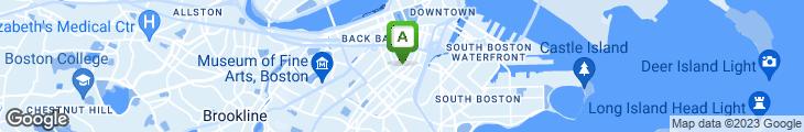 Map of Franklin Cafe