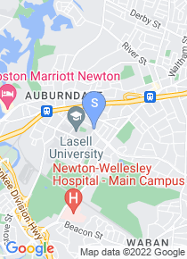Lasell College map
