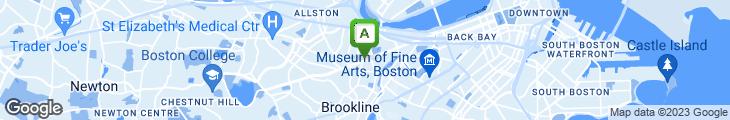 Map of Atrium Cafe