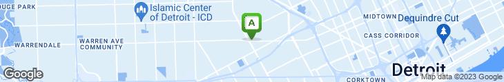 Map of Metro Grill Coney Island