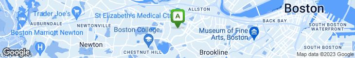 Map of Blackstone Grill