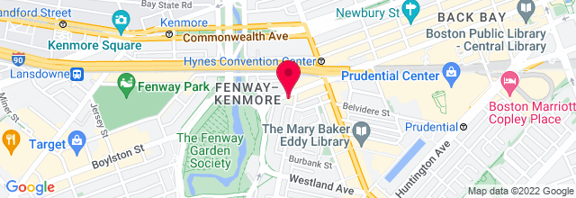 Map for Red Room, Cafe 939, Berklee College of Music