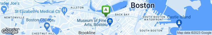 Map of Boston Beer Works