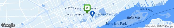 Map of Bert's Marketplace