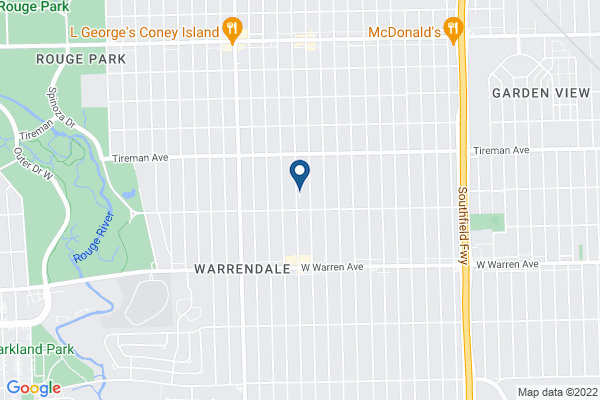 Map of Warrendale Charter Academy