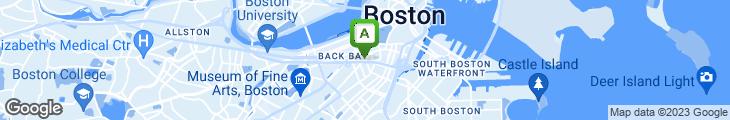 Map of 209 Boston