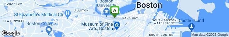Map of Bertucci's