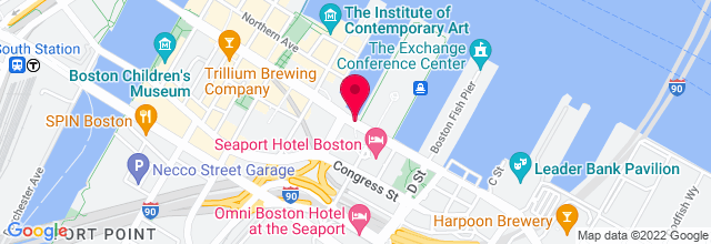 Map for Seaport Hotel Ballroom
