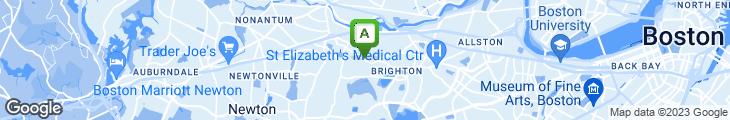 Map of Beantown Pub