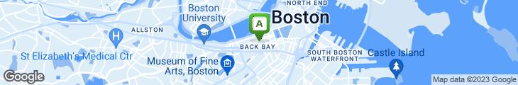 Map of Bouchee Boston