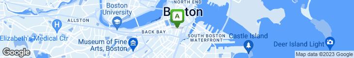 Map of Boston Kitchen Pizza