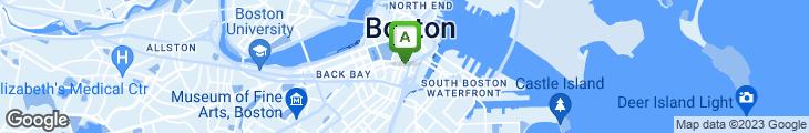 Map of Ocean Wealth Restaurant