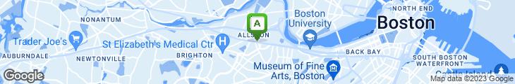 Map of Bon Chon