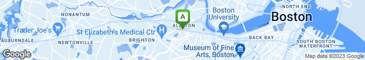 Map of Cafe Belo