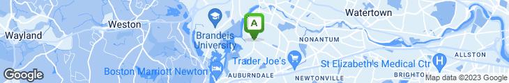 Map of Ny pie