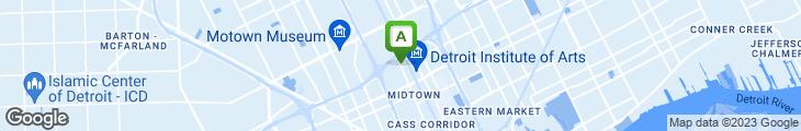 Map of Campus Coney