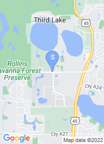 College of Lake County map