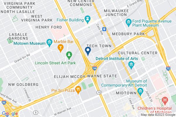 Map of University Preparatory Academy Elementary - Ellen Thompson